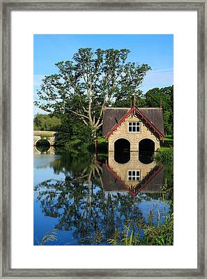 Boathouse Framed Print by Joe Burns