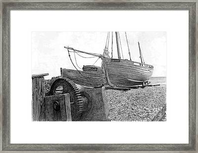 Boats Framed Print by William Young
