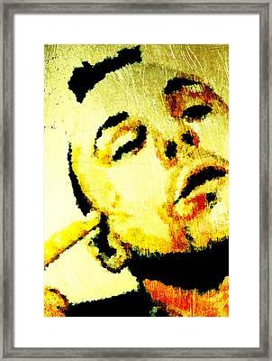 Bob Framed Print by Andrea Barbieri