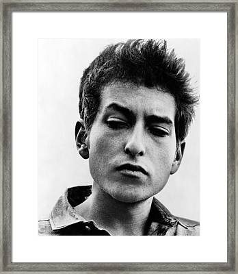 Bob Dylan B. 1941 Informal Portrait Framed Print by Everett
