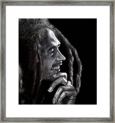 Bob Marley  Framed Print by Fithi Abraham