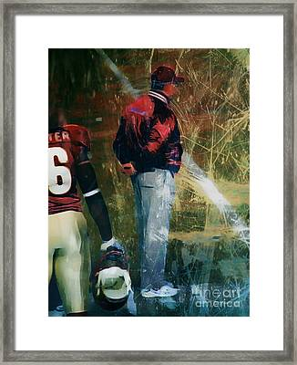 Bobby Bowden Framed Print by Paul Wilford