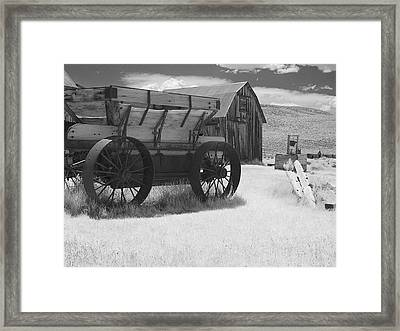 Bodie Ca - Praise The Lord And Pass The Ammunition Framed Print by Christine Till
