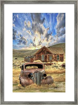 Bodie Ghost Town Framed Print by Benanne Stiens