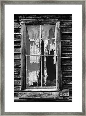 Bodie Ghost Town Framed Print by Sandra Bronstein
