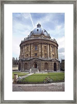 Bodlien Library Radcliffe Camera Framed Print by Jane Rix