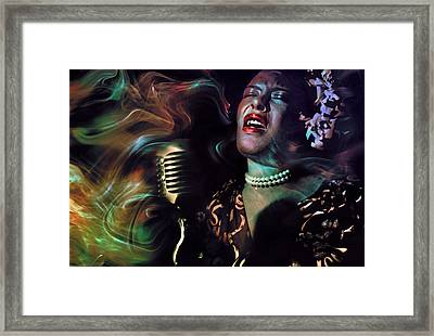 Body And Soul Framed Print by Mal Bray