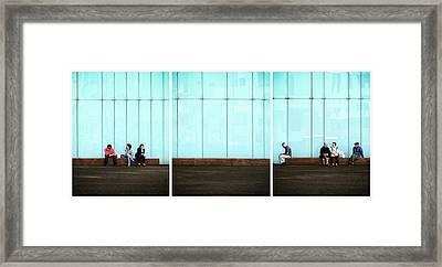Body Language Framed Print by Paulo Abrantes