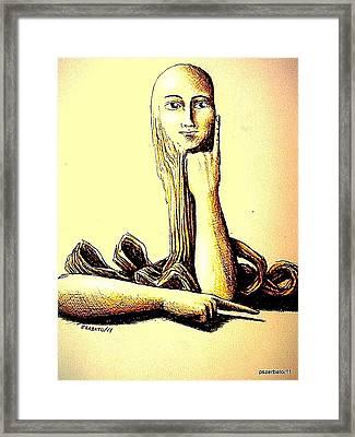 Body Language Framed Print by Paulo Zerbato