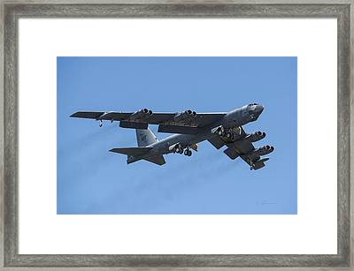 Boeing B-52 Stratofortress Framed Print by L Brown