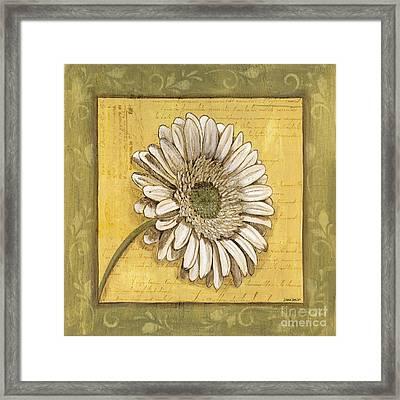 Bohemian Daisy 1 Framed Print by Debbie DeWitt