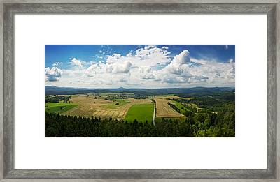 Bohemian Switzerland Framed Print by Dominika Aniola