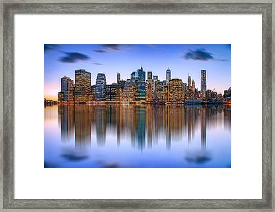 Bold And Beautiful Framed Print by Az Jackson