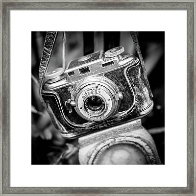Bolsey B Rangefinder Camera Framed Print by Jon Woodhams
