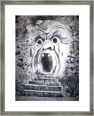 Bomarzo Framed Print by Sharon Wright