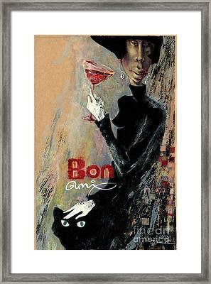 Bon Ami Framed Print by Una Lune