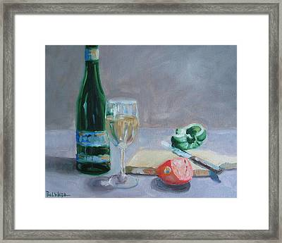 Bon Appetite Framed Print by Paul Walsh