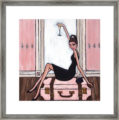 Bon Jour Framed Print by Denise Daffara
