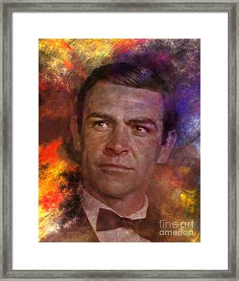 Bond - James Bond Framed Print by John Robert Beck