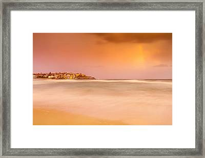 Bondi Phenomenon  Framed Print by Az Jackson
