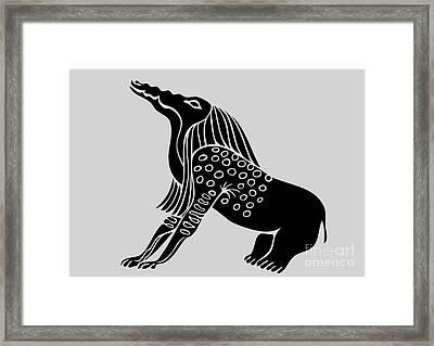 Bone Eater Framed Print by Michal Boubin