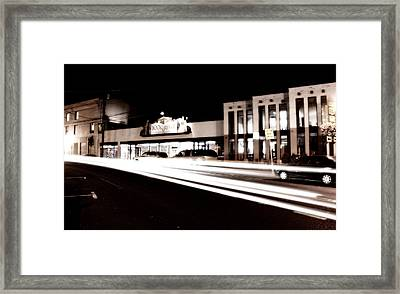Book Revue Framed Print by Michael Simeone