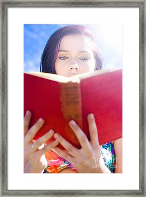Book Framed Print by Jorgo Photography - Wall Art Gallery