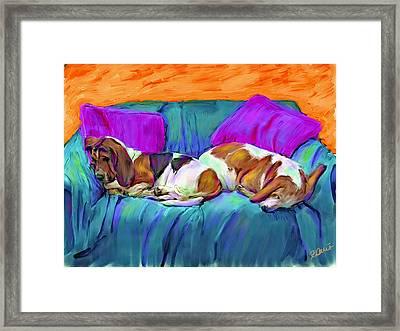 Bookends Framed Print by Karen Derrico