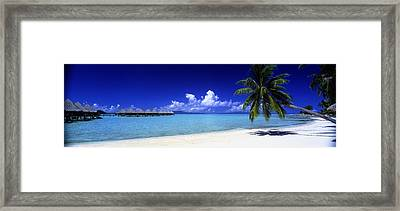 Bora Bora South Pacific Framed Print by Panoramic Images