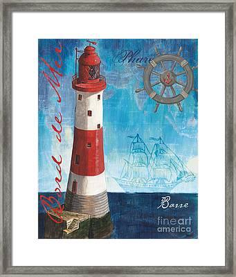 Bord De Mer Framed Print by Debbie DeWitt