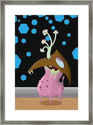 Bordle Framed Print by Kyle Harper