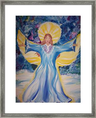 Born Again Framed Print by Wendy Smith