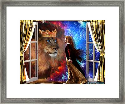 Born For Such A Time Framed Print by Dolores Develde