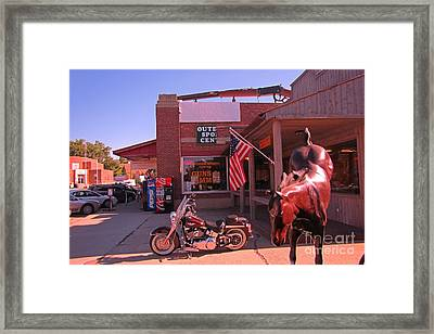 Born In The Usa  Framed Print by John Malone