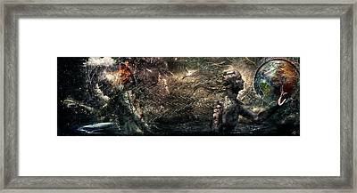 Born Of Osiris Soul Sphere Framed Print by Cameron Gray
