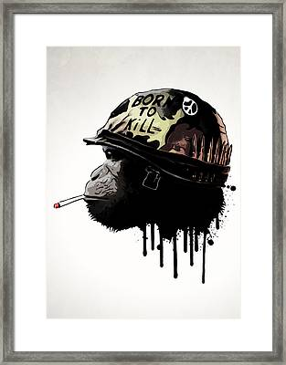 Born To Kill Framed Print by Nicklas Gustafsson