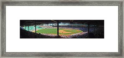Boston Fenway Park Framed Print by Juergen Roth