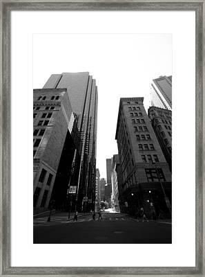 Boston Framed Print by Jason Smith