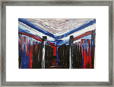 Boston Marathon Memorial II Framed Print by Ronald Carlino Jr