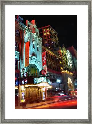 Boston Opera House - Boston Theatre District Framed Print by Joann Vitali