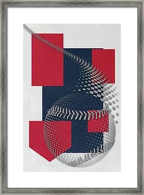 Boston Red Sox Art Framed Print by Joe Hamilton