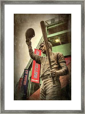 Boston Red Sox - Carl Yastrzemski Framed Print by Joann Vitali