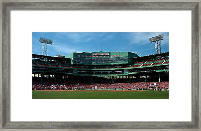Boston's Gem Framed Print by Paul Mangold