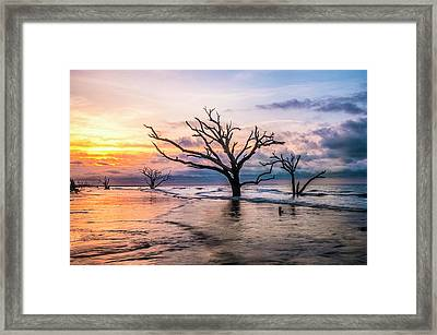 Botany Bay Dawn Framed Print by Phyllis Peterson