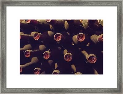 Bottled History Framed Print by Georgia Fowler