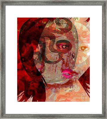 Bought Before Birth Framed Print by Fania Simon