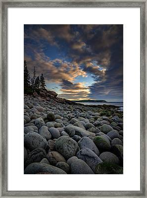 Boulder Beach Sunrise Framed Print by Rick Berk