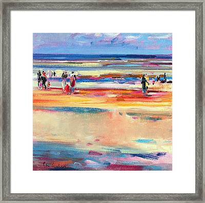 Boulevard De Boudin Framed Print by Peter Graham