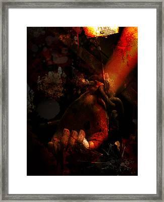 Bound Framed Print by Sean King