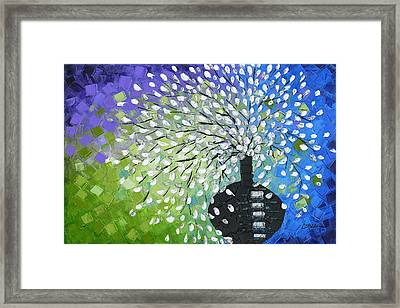 Bouquet Framed Print by Susanna Shap